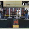 On stage at the 2010 Atlanta Jazz Festival with 'Marea Alta'.
